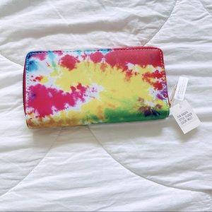 Tie dye style wallet